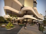 Porte Cochere and Retail Promenade Entry from Hooker Blvd_LOW RES