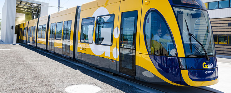 G:link light rail is on the move – Gold coast