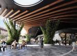 Artist Impression - Montague Markets Retail Plaza Dining Precinct